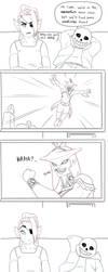 Undertale meets Zelda BotW: Prince Sidon by Khalliys