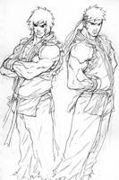 ken and ryu by NgBoy