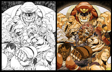 Street Fighter Tribute Art by NgBoy