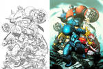 Megaman Tribute by NgBoy