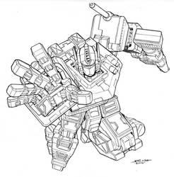 optimus prime by NgBoy