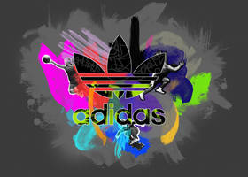 adidas fingerpainting contest by KRM3N