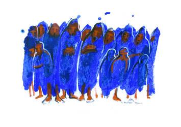 El coro - 1999 by andresbestardmaggio