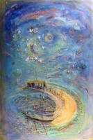 Los artistas saltando de luna en luna - 2005 by andresbestardmaggio