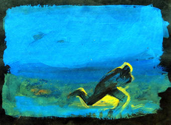 Escapando - 1992 by andresbestardmaggio