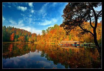 Trakoscan Lake by ivekvatrozic