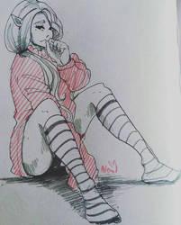 Elf girl by Alexa1Alexa