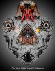 Alien Tattoos by Dead-Genre-Revival