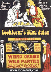 Retro Ad for Fookleyur Blog by Dead-Genre-Revival