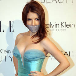 Anna Kendrick gagged by PhM 009a by PhMBond