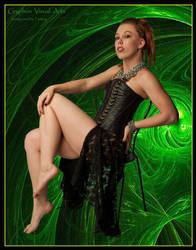 Scarlett 014 by GryphonVisArts