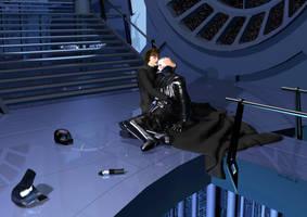 Darth Vader and his son Luke by denisogloblin