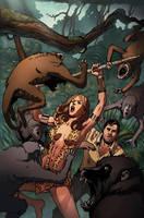Sheena 3B Cover by bearmantooth