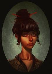 Girl by bearmantooth