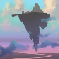 Floating Island by bearmantooth