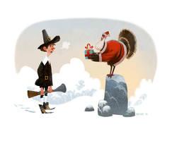 Happy Thanksmas! by bearmantooth