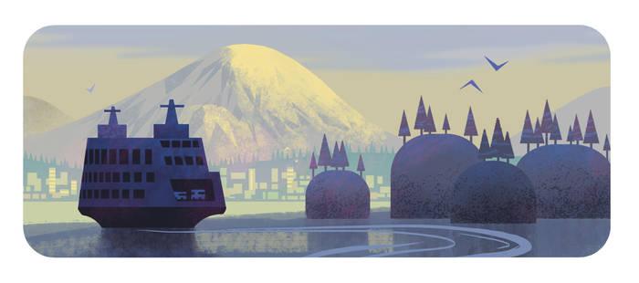 Mt. Rainier by bearmantooth