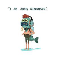 Adam Humanson by bearmantooth