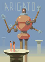 Mr. Roboto by bearmantooth