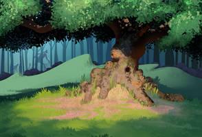 Old Oak by bearmantooth
