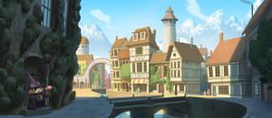 Village by bearmantooth