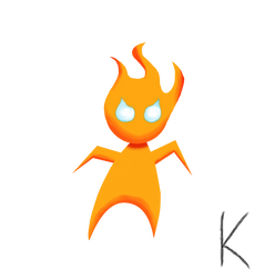 Fire Boy by KToonz