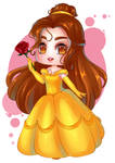Belle Chibi by Eldorys
