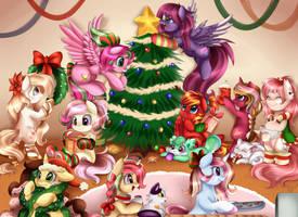 Comm: Christmas Overload by pridark