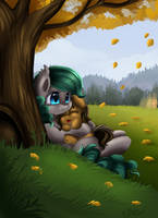 Comm: Under The Tree by pridark