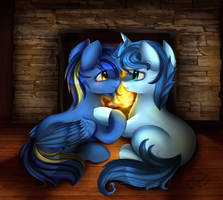 Comm: With you by pridark