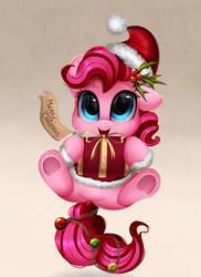 Pinkie Xmas by pridark