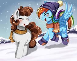 Comm: Funny snow by pridark