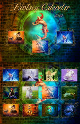 Fantasy Calendar 2012 by dianar87
