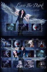 Love The Dark Calendar 2012 by dianar87