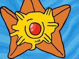 Starflower The Staryu by JessicaPedley