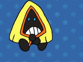 SnowDrop the Snorunt by JessicaPedley