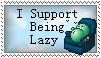 Lazy stamp by Death-Metal-Anarchy