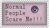 Normal People - stamp by Death-Metal-Anarchy