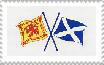 Scot Flag Stamp by Show-bet