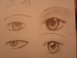 Just a few manga eyes! by Mirerose
