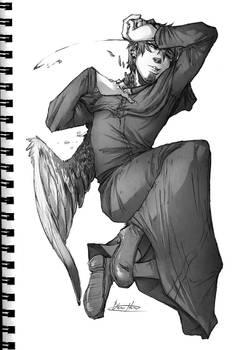 Fallen Angel by BlasticHeart