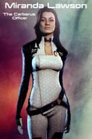 Miranda Lawson Poster by mpissott