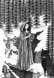 As the Wolf Wanders by Caitria5
