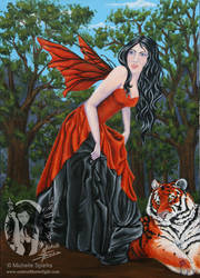 Tiger Lily by Caitria5