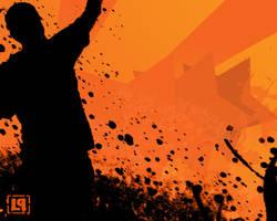 Linkin Park Orange by inpose