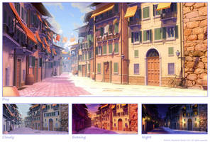 EH: City street 1 by owen-c