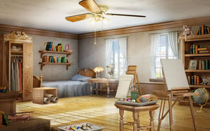 EH Bedroom by owen-c