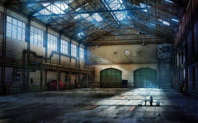 EH Abandoned Factory by owen-c