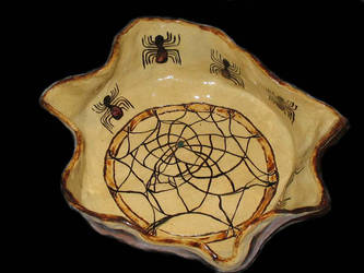 Grandmother Spider Bowl by StephanEGoldenFalcon