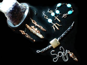 Custom Energetic Jewelery by StephanEGoldenFalcon